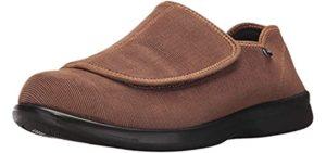 Propet Men's Cush n' Foot - Burning Feet Slippers
