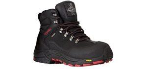 RefrigiWear Women's Black Widow - Work Shoes with Vibram Soles