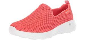 Skechers Go Walk Women's Joy - Walking Shoe for Burning Feet