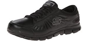 Skechers for Work Women's Eldred - Shoe for Laboratories