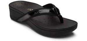 Vionic Women's Pacific High Tide - Sandals for Hip Pain
