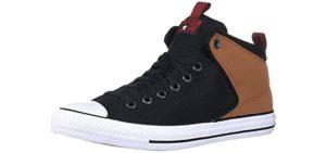 Converse Women's Suede Top - High Top Canvas Sneaker