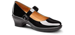 Dr. Comfort Women's Coco - Plantar Fasciitis and Heel Spur Dress Shoe