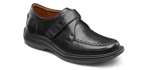 Dr. Comfort Men's Frank - Overpronation Dress Shoe