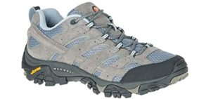 Merrell Women's Moab vent 2 - Trail Walking and Running Shoe for High Arches