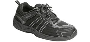 Orthofeet Men's Monterey - Therapeutic Athletic Shoes for Toe Arthritis