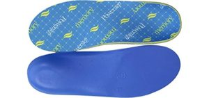 Powerstep Men's Memory Foam - High Arch Insole