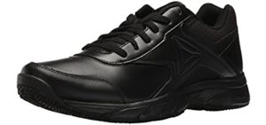 Reebok Men's Work n Cushion - Work and Walking Leather Shoes