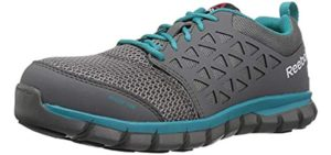 Reebok Work Women's Sublite - Roofing Work Shoe