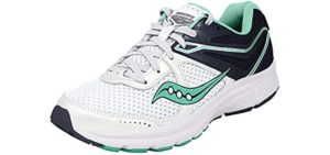 Saucony Women's Cohesion 11 - Running Shoe for Peroneal Tendinitis