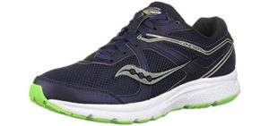 Saucony Men's Cohesion 11 - Running Shoe for Peroneal Tendinitis
