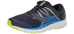 Saucony Men's Omni ISO - Walking and Running Shoe for Overpronation
