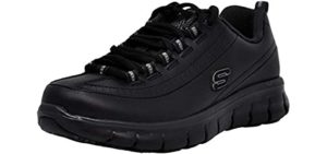 Skechers Work Men's Sure Track Trickel - Comfortable Shoes for Retail workers