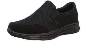 Skechers Men's Equalizer - Slip On Shoe for Retail Workers