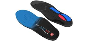Spenco Men's Total Support - Flat Feet Insoles