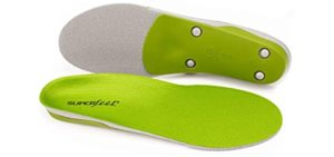 Superfeet Men's Green - Flat feet Insole