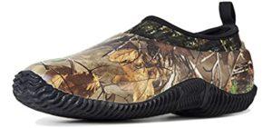 Tengta Men's Rain Boot - Gardening and Yard Work Shoe