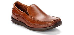 Vionic Men's Preston - Dress Shoe for Plantar Fasciitis and Heel Spurs