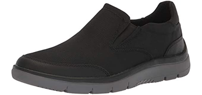 Clarks Men's Sillian - Dressy Slip on Walking Shoe