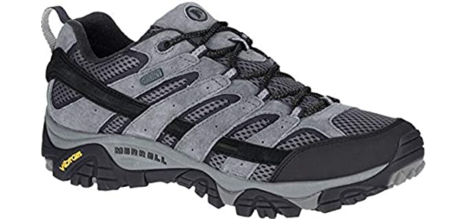 Merrell Men's Moab Vent 2 - Waterproof Comfort Walking Shoe