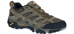 Merrell Men's Moab 2 - Hiking Shoe for Bad Knees