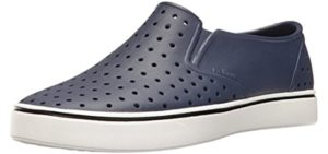 Native Shoes Men's Miles - Breathable and Water Friendly Summer Shoe