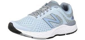 New Balance Women's 680V6 - Walking and Running Shoe for Diabetic Symptoms