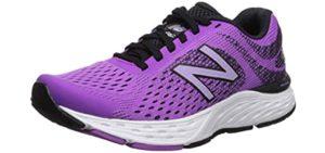 New Balance Women's 680V6 - Walking and Running Shoe for Arthritis