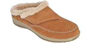 Orthofeet Women's Charlotte - Best Slippers with Arch Support