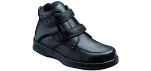 Orthofeet Men's Glacier - Shoe for Bad Ankles