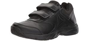 Reebok Women's Work 'N Cushion 3.0 - Heel Spur Velcro Walking Shoe