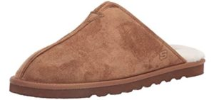 Skechers Men's Renten-Palco - Memory Foam Cushioned Slipper