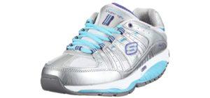 Skechers Women's Shape Ups Kinetix - Motion Control Heel Spur Walking Shoes