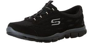 Skechers Women's Full Cicrle - Walking Shoe for Flat Feet