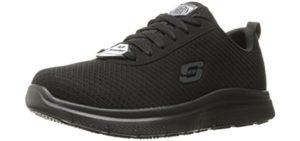 Skechers Men's Flex Advantage Bendon - Lightweight Work Shoe for Flat Feet