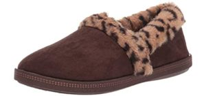 Skechers Women's Cozy Campfire - Memory Foam Cushioned Slipper