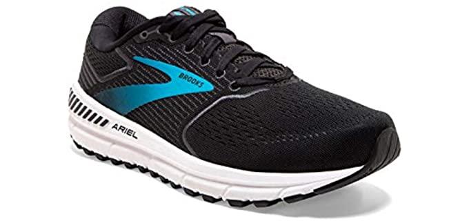 Brooks Women's Ariel 20 - Walking Shoe for Heavy Weights