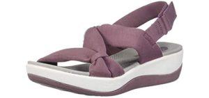 Clarks Women's Arla Primrose - Sandal for Achilles Tendonitis