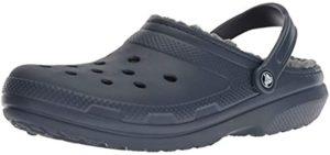 Crocs Men's Classic - Lined Slipper for Neuropathy