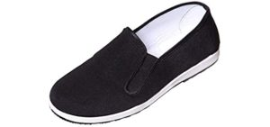 Holyangtech Men's Old Beijing - Traditional Cloth Tai Chi Shoes