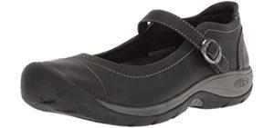 Keen Women's Presidio - Wide Toe Box Narrow Heel Shoe for Walking