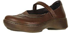 Naot Women's BlueGill - Wide Toe Box Narrow Heel Dress Shoe for Walking