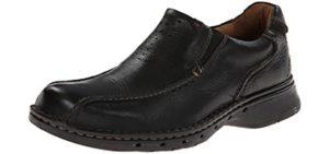 Naot Men's Eiger Mule - Wide Toe Box Narrow Heel Dress Shoe for Walking