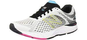 New Balance Women's 680V6 - Flat Feet Cross Training and Running Shoe