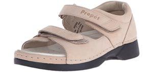 Propet Women's Pedic Walker - Orthopedic Sandal for Achilles Tendonitis