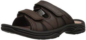 Propet Men's Vero Slide - Orthopedic Sandal for Achilles Tendonitis