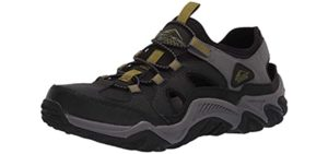 Skechers Men's Outline Trago - Water and Outdoor Shoe for Thailand