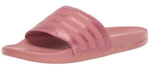 Adidas Women's Adilette - Thailand Slide On Shoe