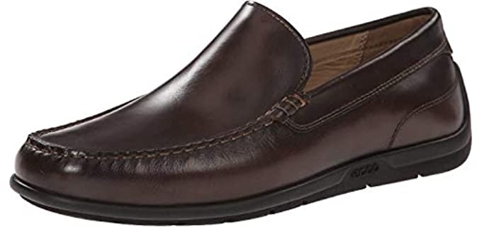 ECCO Men's Classic Moc 2.0 - Moc Toe Driving dressy Shoe