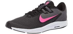 Nike Women's Downshifter 9 - Running and Walking Shoes for Bow Legs